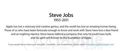 Steve Jobs a soli 56 anni, dopo una lunga malattia è Morto