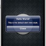 UIAlerView Styles inseriamo testo e password
