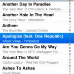 Riprodurre canzone nella tua app dall'iPod integrato