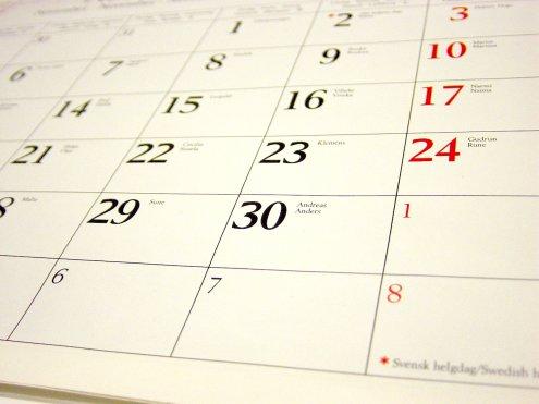 Contare il numero di giorni del mese (esercizio)