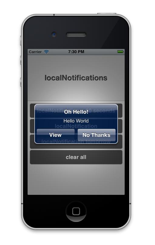 Aggiungiamo le  Notifiche Locali all'interno delle nostre applicazioni