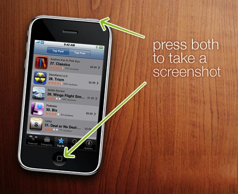 Quick Tip: Fare e salvare nel rullino uno screenshot via codice iPhone/iPad