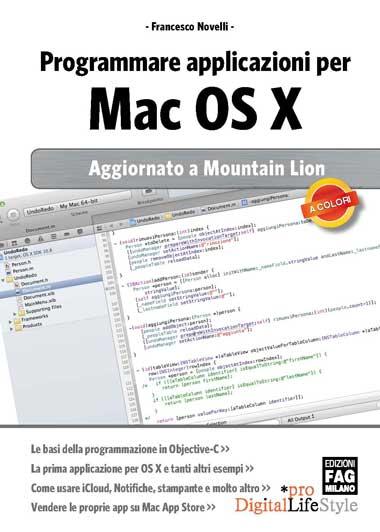 Francesco Novelli: Programmare applicazioni per Mac OS X