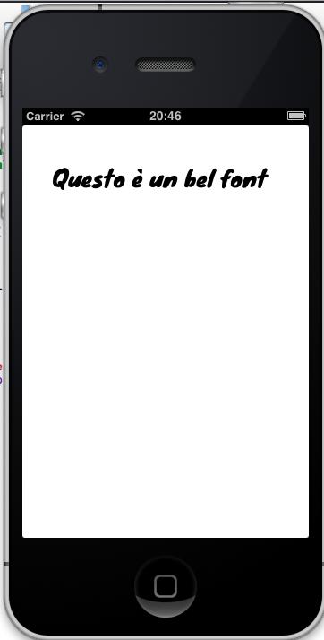 Come importare ed usare un Font personalizzato nella nostra applicazione