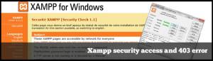 Sito Web XAMPP: Risolvere Accesso Negato Errore 403