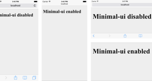 Navigation bar che scompare come in Safari da iOS8 in poi