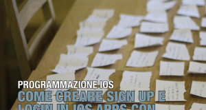 Come creare Sign Up e Login in iOS Apps con Parse